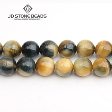 JD Stone Beads Free Shipping Dream Tiger Eye Beads Fashion Hand-made Jewelry Ornament(China)