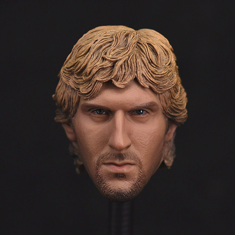1/6 Male Head Model NBA Basketball Star Dirk Nowitzki Head Carving For 12 inches Action Figure<br><br>Aliexpress