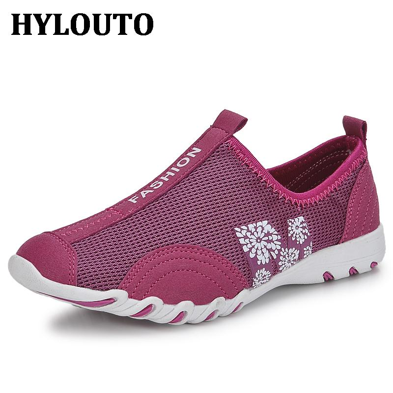 Summer Lady Sport Walking Fashion Women Casual Shoes Super Soft High Quality Breathable Beach Air Mesh Shoes 8058<br><br>Aliexpress