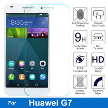 Premium Tempered Glass for Huawei Ascend G7  Screen Protector for G7-L01 G7-L03 G7-TL00 G7-UL10 Dual Sim Lte Anti-Shock Film