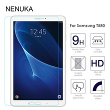 Tempered Glass Screen Protector for Samsung Galaxy Tab A 10.1 (2016) T580 T585 Tablet PC Anti-scratch Protective Film Guard(China)