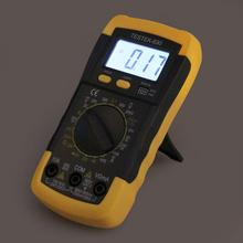 Electric Handheld LCD Digital Multimeter Ammeter Voltmeter Ohmmeter Multitester AC/DC Volt Amp Ohm Meter Tester Diagnostic Tool