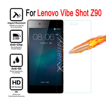Buy Lenovo Vibe shot Z90 Tempered glass Cover Screen Protector case Lenovo Vibe shot Z 90 Moblie phon protective film caes for $2.75 in AliExpress store