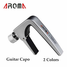 Aroma AC-11 Guitar Capo Zinc Alloy for Acoustic Electric Guitar High Quality Acoustic Guitar Part(China)