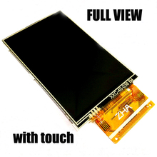 Free shipping 5pc/lot Full view 4inch TFT LCD screen with touch 37pin 8/16bits Parallel 320*480 Color LCD  ILI9486