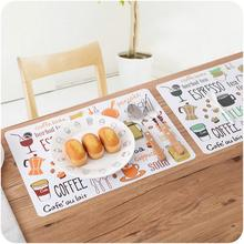Slip Waterproof Tablecloth Dining Table Cup Mat Anti-Slip Pad Bowl Kitchen Mat drop shipping #YHE0(China)
