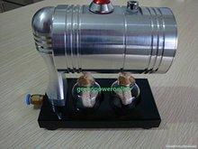 Hot Live Steam Engine Cylinder Unibody Design Boiler Education Toy DIY Gl-001(China)