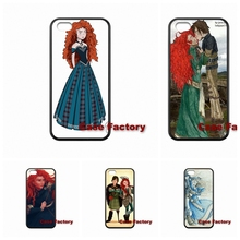 For HTC One X S M7 M8 mini M9 Plus Desire 820 Moto X1 X2 G1 G2 Razr D1 D3 Samsung Brave Princess Merida and Hiccup Cell phone