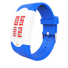 9s & cheap Touch The LED Silicone Watch #30808 High quality watch   M 29
