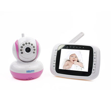 Wireless Baby Camera 3.5 inch tft lcd bebe monitor Baby Video Phone Radio Nanny baby radio babysitter digital video baby monitor(China)