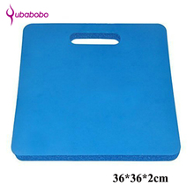 QUABOBO 20mm NBR Unisex Yoga Cushion Yoga Mats For Fitness Sports and fitness kneeling Pad small kneeling Regular shape Pad(China)