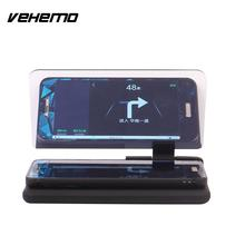 Vehemo Head Up Display Car Auto HUD Phone GPS Navigation Image Reflector Holder Universal For BMW BENZ AUDI FORD NISSAN MAZDA VW(China)