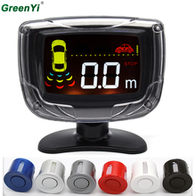 GreenYi P500 10PCS Wholesale LCD Display Car Parking Assistance System Car Radar Backup Parking Sensor Monitor With Buzzer(China)