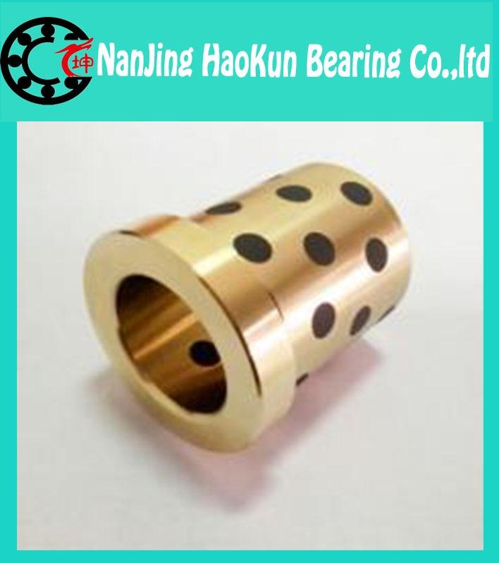 JDB 405060 40*50*60 brass bushing straight copper type, solid self lubricant Embedded bronze Bearing bush<br><br>Aliexpress