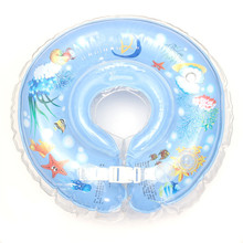Safety Infant Kid Inflatable Swimming Neck Float Ring PVC Bath Swim Pool Float Beach Baby Tube Ring Safety Neck Circle Bathing(China)