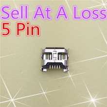10pcs G20 Micro USB 5pin Female Connector For Mobile Phone Charging Socket 4Foot Curly Mouth High Quality Sell At A Loss USA