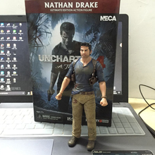 "Uncharted Sir Francis Drake Circle Anime Game from Collector's Edition Nathan Drake PVC Action Figure Toy 7""17CM"