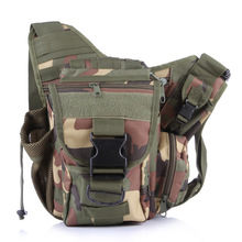 Mens Crossbody Military Leisure Oxford Shoulder Bag Multifunctional Hike Travel Camera Messenger Bag Men Crossbody camouflage(China)