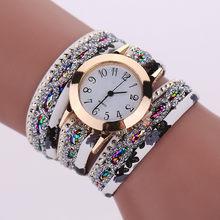 566793990d0 2019 Moda Floral Moda Das Senhoras Pulseira Relógios do Relógio Das Mulheres  Relógio de Ouro Liga