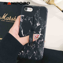 Buy iphone 6 6s 7/8 PLUS X Fashion Marble Soft silicon Ring Phone Case iphone x Case Hide Stand Holder Cover iphone 6s for $2.39 in AliExpress store