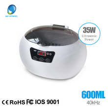 Digital Ultrasonic Cleaner Cleaning Machine Basket Jewelry Watches Dental 0.6L 35W 40kHz Ultrasound Cleaner Mini Ultrasonic Bath(China)