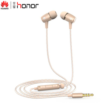 100% Original Huawei Honor Engine AM12 Plus HiFi Earphone With Remote and Mic For Samsung Huawei Xiaomi Retail Box High Quality(China)