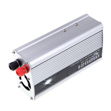 DC 12V to AC 110V 1200W Modified Sine Wave Car Inverter Converter Auto Power Supply USB charger adapter Transformer