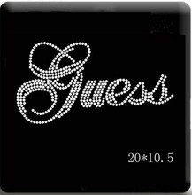 4PC/LOT Garment rhinestones patch designs iron on transfer hot fix rhinestone transfer motifs iron on applique patches shirt