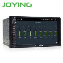 "7"" Joying 2G+32G Android 6.0 Universal Car Audio Stereo GPS Navigation Double 2 Din 1024*600 HD Head Unit Multimedia Player"