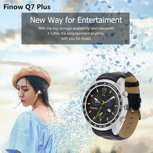 Waterproof FINOW 3G Smart watch 1.3'' Android 5.1 Quad Core Camera Bluetooth GPS Mens SmartWatch Phone Women Men For Android IOS