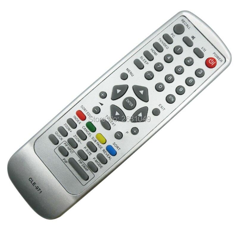 hitachi tv remote. for hitachi lcd tv remote control cle-971 cle-969 42pd6000tc 42pd6000tc3 hitachi tv