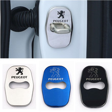 Buy 4Pcs DIY Car Styling Stainless Steel Door Lock Case Stickers Peugeot 3008 2008 308 408 508 301 2009 -14 Citroen for $6.34 in AliExpress store
