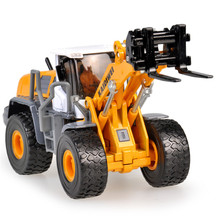 KAIDIWEI Alloy Wheeled Fork Installed Car Toy 1:50 Die cast Metal +ABS Engineering Truck Model Kids Toys Brinquedos