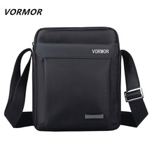 VORMOR Men bag 2017 fashion mens shoulder bags, high quality oxford casual messenger bag business men's travel bags(China)