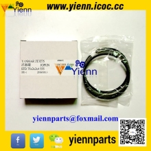 Yanmar 3D75 3TN75 3TNV75 Piston Ring 719865-22500 For KOMATSU PC10-5 PC20-2/3 Excavators 3D75-2C Diesel engine Spare parts