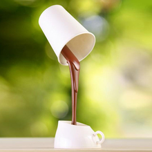 New LED Night Light Coffee Pour Lamp With USB Battery DIY Table Lamp Eye Protection Desk Lamp Wholesale