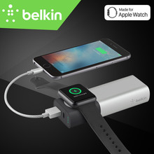 Belkin Premium External Battery Pack Power Bank Wireless Charger for Apple Watch+iPhone for iPhone7 Mobile Phone