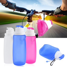 320ML  Travel bike cycling Bottles Silicone Collapsible Drinking Water Storage Bottle Newest