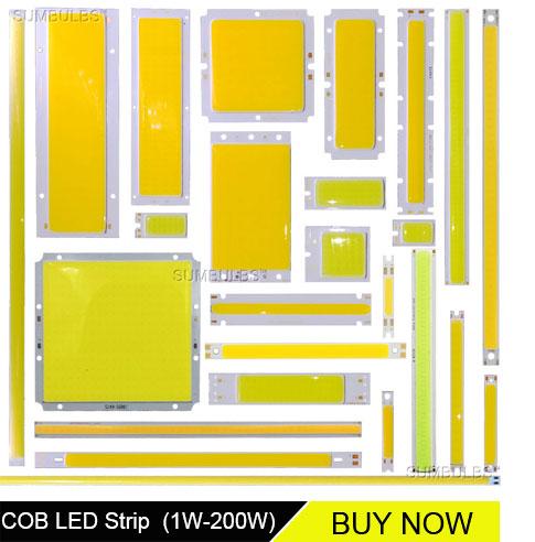 round cob led strip light source chip on board lamp bulb dc (2)