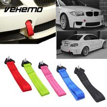 VEHEMO Universal Car Trailer Belt Refires General Trailer Towing Ropes Tow Hook Strap High Strength Nylon Ropes Car Accessories(China)