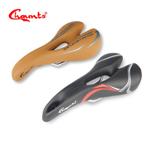 Chaunts Bicycle Saddle Seat MTB Mountain Road Bike Rear Seat Part Cushion For Cycling Pad Men Breathable Comfort Gel Soft Saddle(China)
