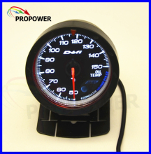 "2.5"" 60MM DF Advance CR Gauge Meter Oil Temp Temperature Gauge Black Face With Temp Sensor(China)"