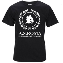T-Shirt ROMA ROME AS ULTRA ITALIA italie Associazione Sportiva AS Roma fans Camiseta Serie A Totti Red Wolf El Shaarawy Perotti(China)