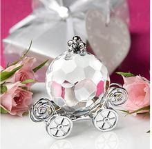 High Quality Choice Crystal Collection Cinderella Crystal Pumpkin Carriage  wedding Favors 10pcs/lot