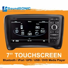 For Audi TT MK2 2006-2011 Auto Spare Parts Accessories 7'' Car Stereo Radio DVD GPS Navigation Navigator Media Center Head Unit(China)
