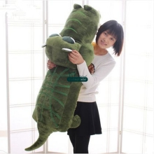 Dorimytrader 47'' / 120cm Large Cartoon Crocodile Toy Stuffed Soft Plush Animal Alligator Doll Baby Gift Free Shipping DY61024