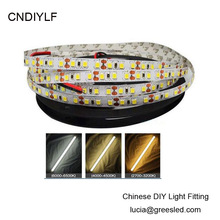 High Brightness 8-11.52w/m 2835 White LED Strip Light (4000K) 24V 5m/600 LED Fast Free Shipping