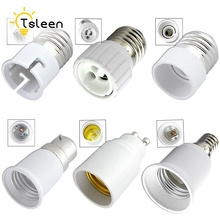 TSLEEN Universal Home GU10 E27 E14 B22 LED Bulb Adapter Socket Base Converter Lamp Type Light Plug High Quality LED Accessory