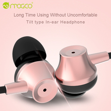 MOGCO In-Ear Earphone Plated Heavy Bass Sound Stereo Earbuds Wired Universal Phone Earpiece Earphone For iPhone Samsung Xiaomi