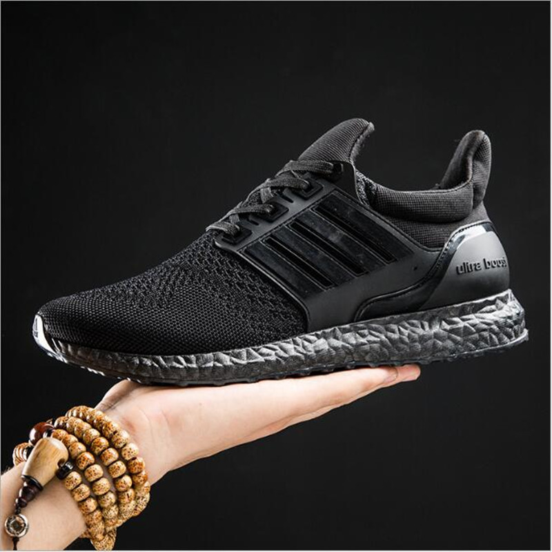 2017 Men Casual Shoes Pu Leather Solid Flat Comfortable Sport Breathable Superstar Trainers Red Bottom Ultra Boosts Zapatillas<br><br>Aliexpress